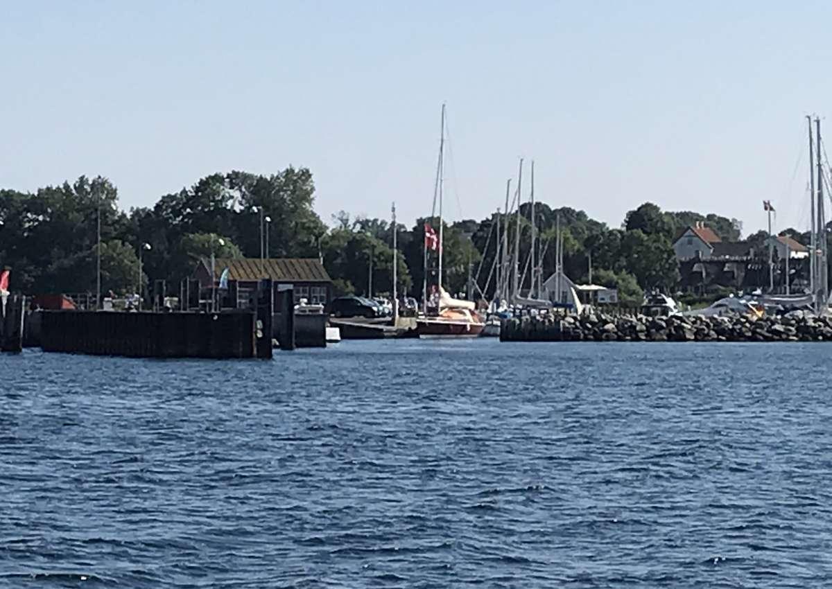 Lyø - Marina near Bådsted