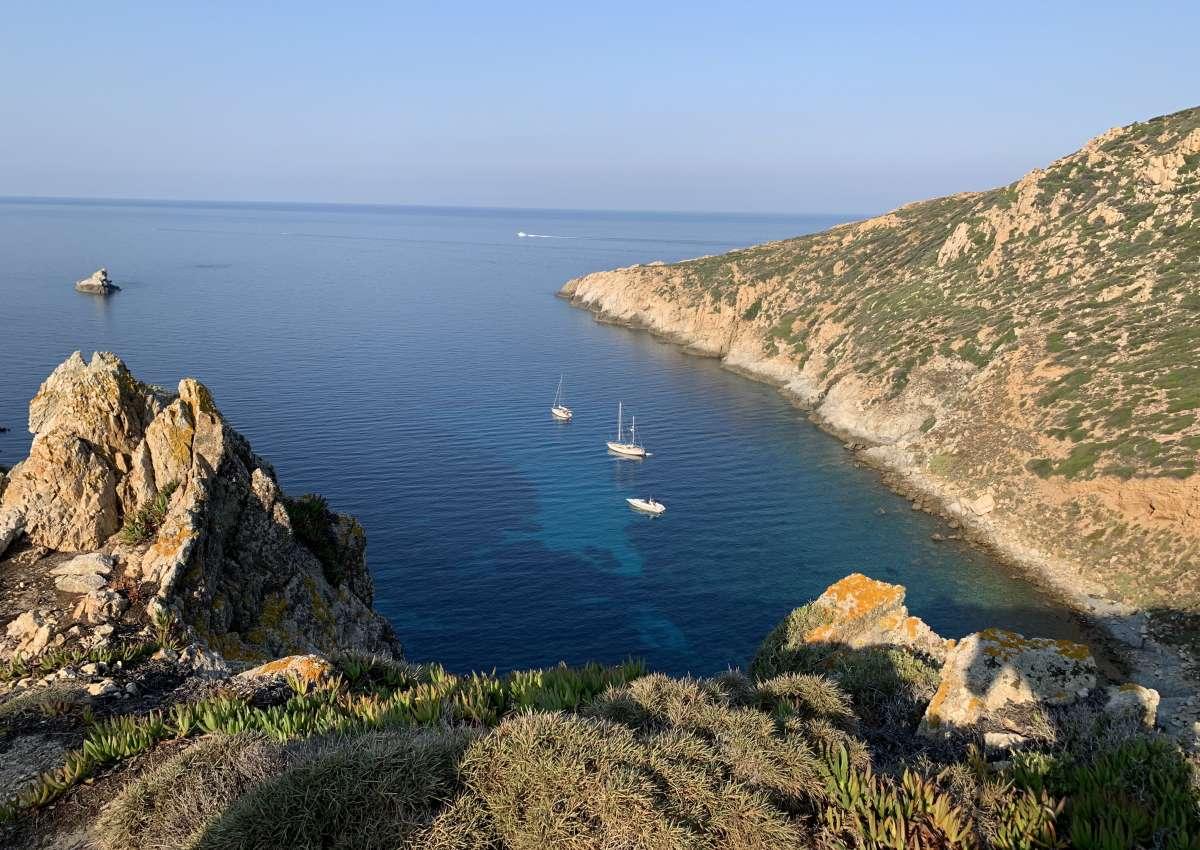 Capu Di Portu Vecchiu - Anchor près de Calvi