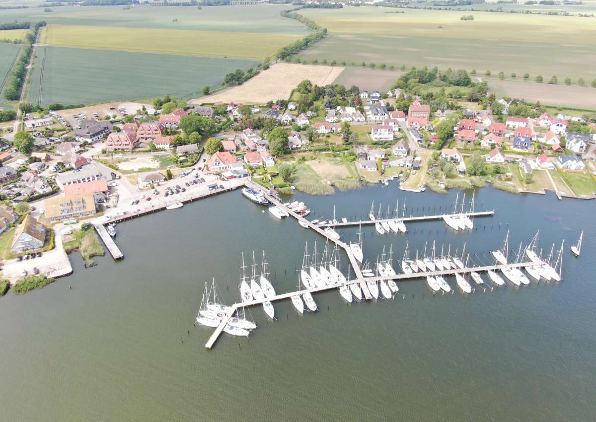 Breege - Hafen bei Breege