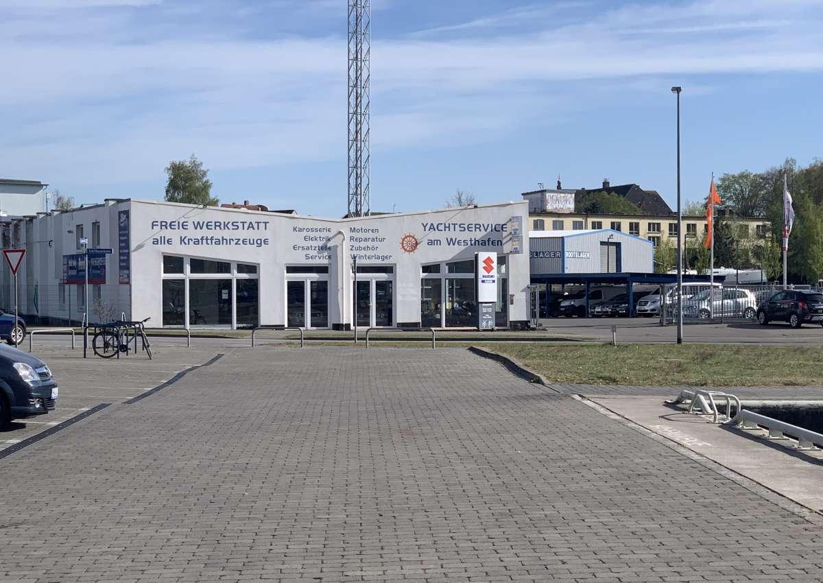 Westhafen - Marina près de Wismar (Viereggenhof)