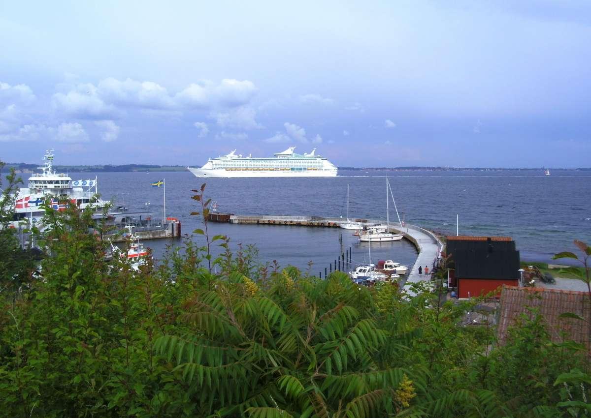 Bäckviken - Hafen bei Tuna