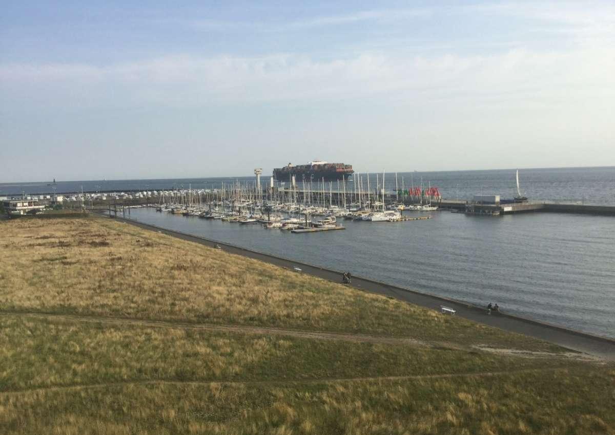 Cuxhaven SVC-Yachthaven - Hafen bei Cuxhaven (Groden)