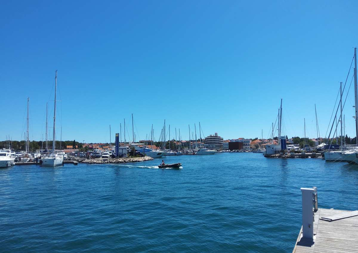Biograd - Marina Kornati - Hafen bei Biograd na Moru