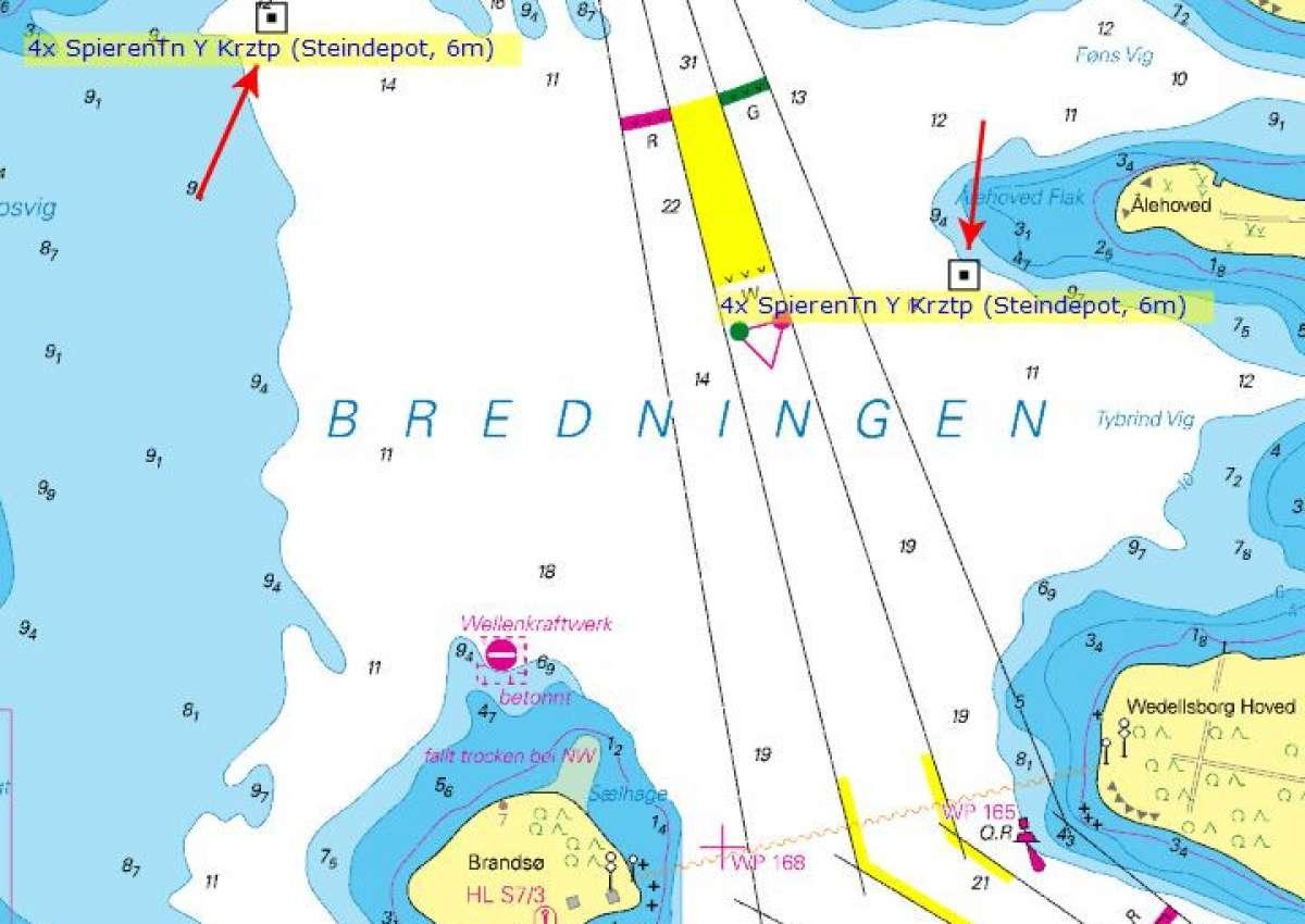 Kleiner Belt - Bredningen Steindepot - Navinfo