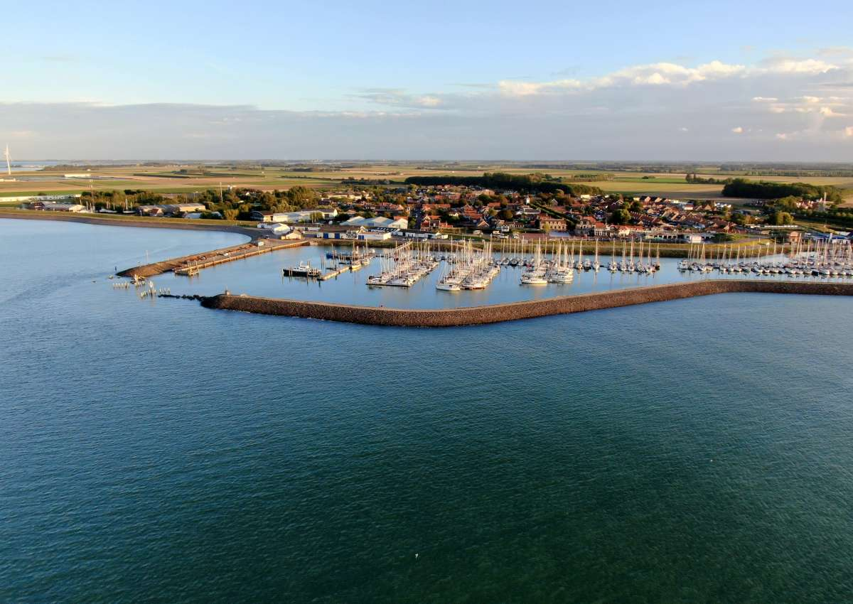 Watersportvereniging Noord-Beveland - Hafen bei Noord-Beveland (Colijnsplaat)