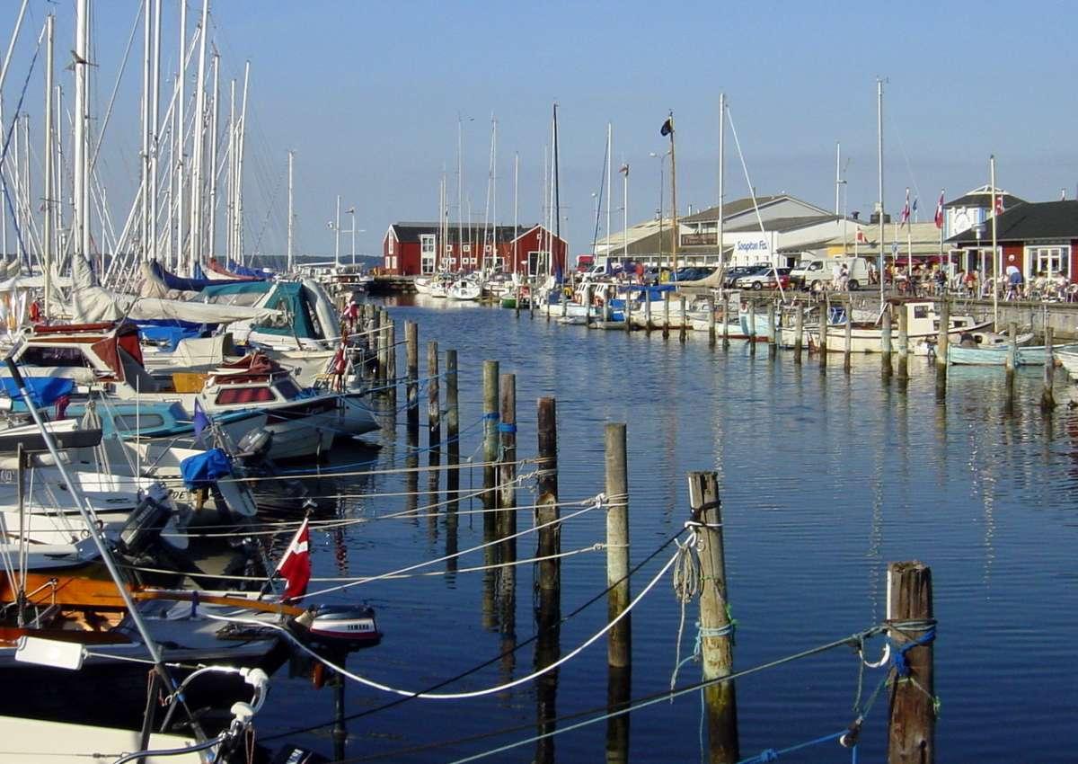 Juelsminde - Hafen bei Juelsminde