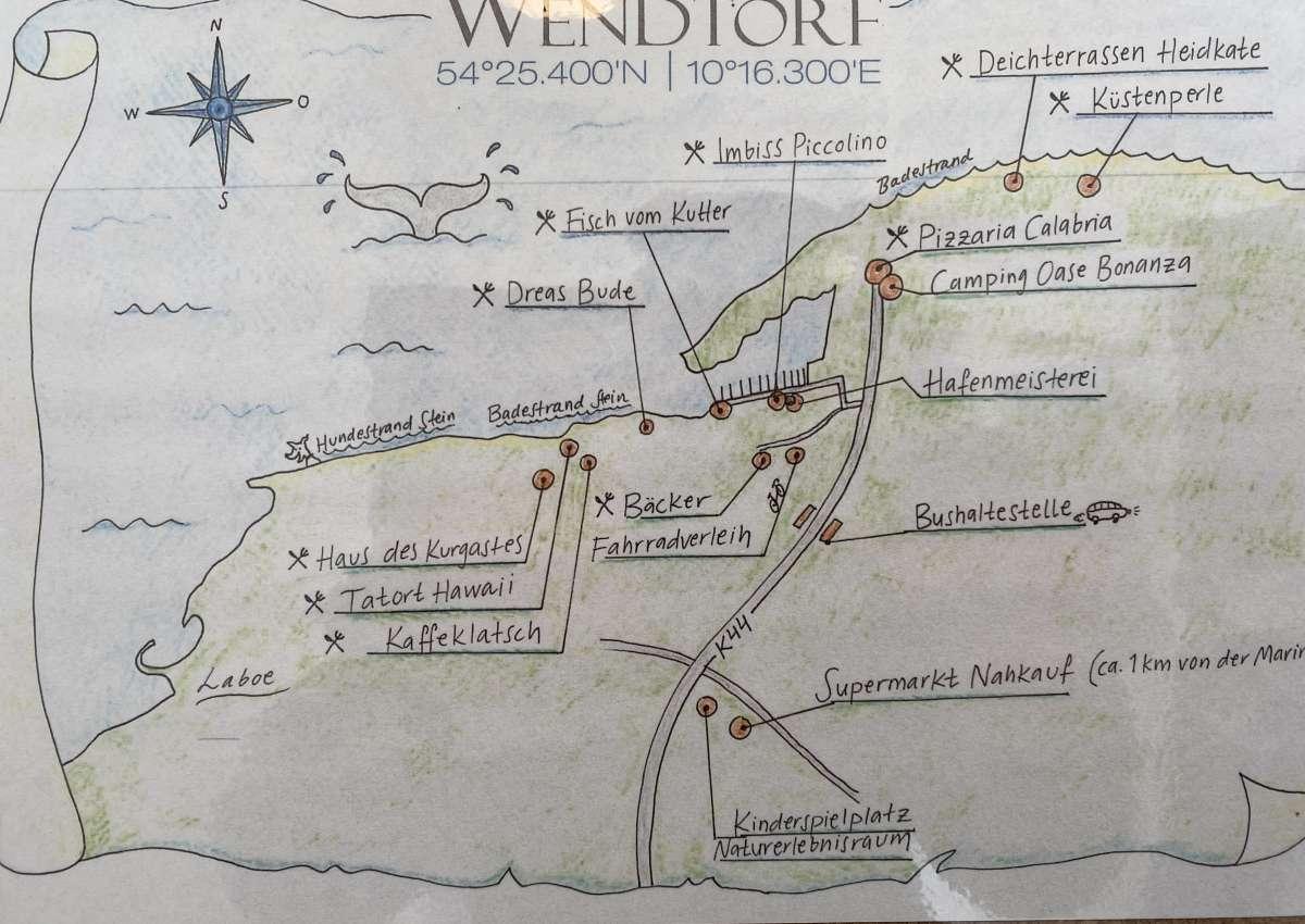 Wendtorf - Marina près de Wendtorf