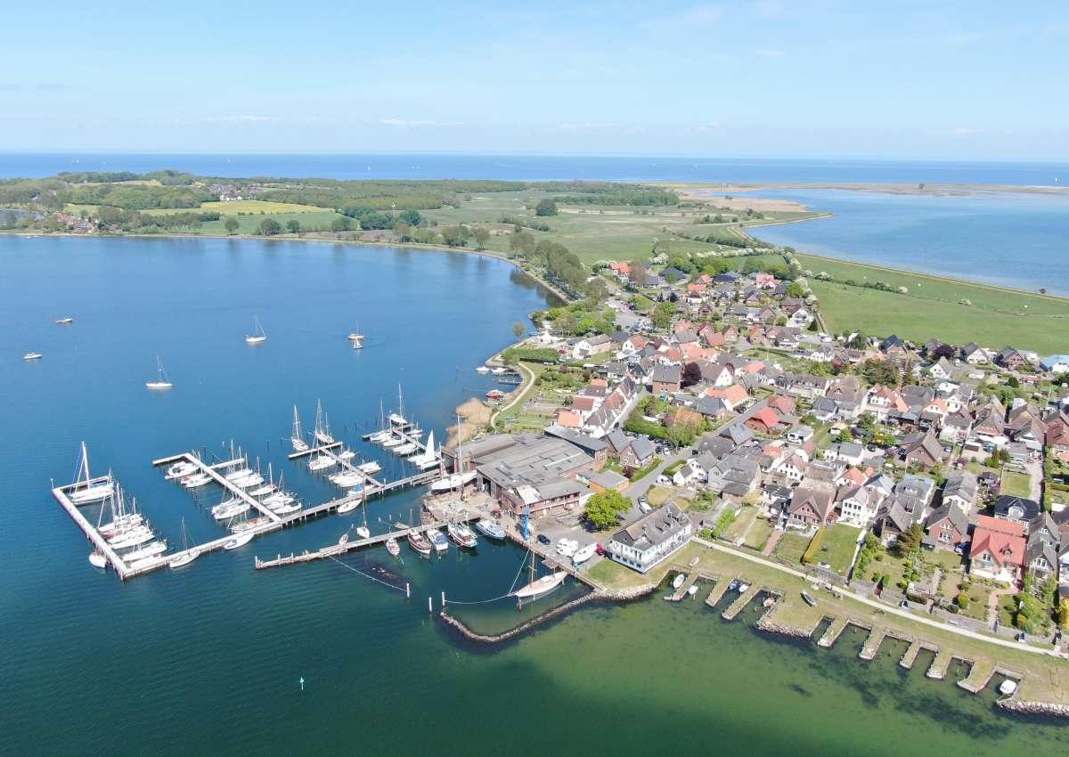 Modersitzki Werft - Marina near Maasholm (Maasholm-Bad)