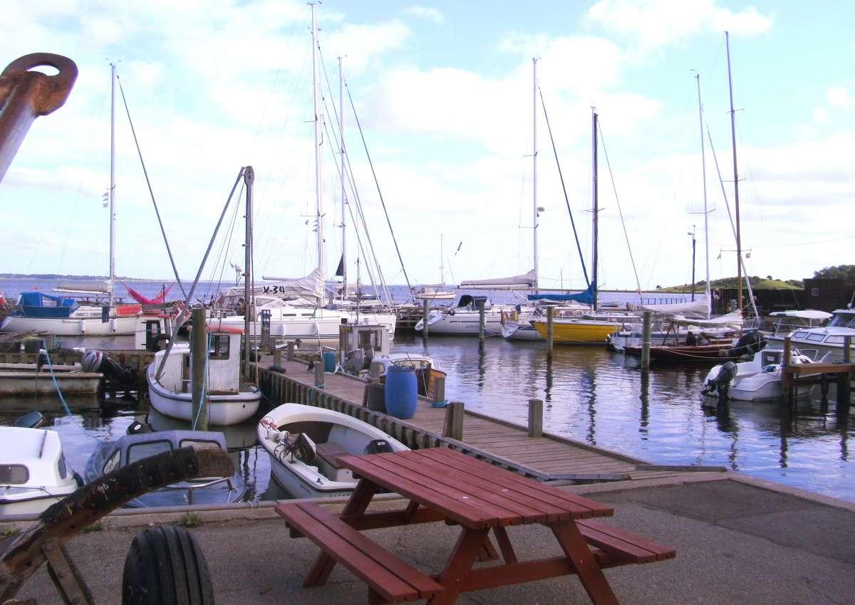 Dyreborg - Hafen bei Dyreborg