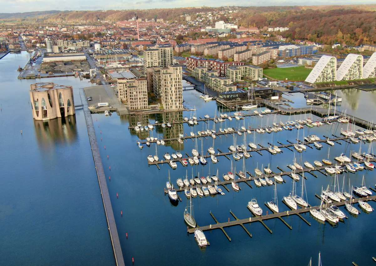 Vejle - Hafen