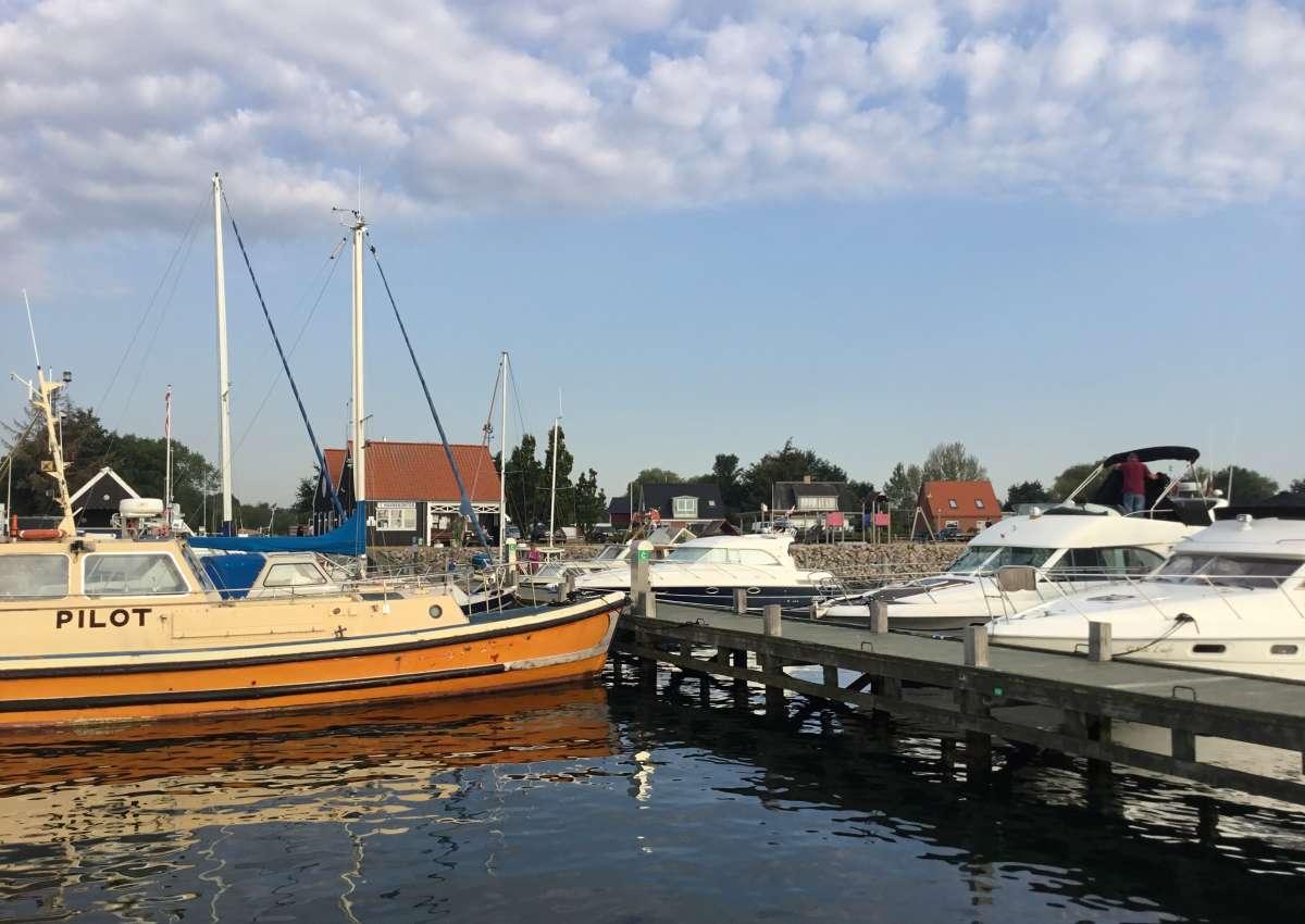 Spodsbjerg - Hafen bei Spodsbjerg