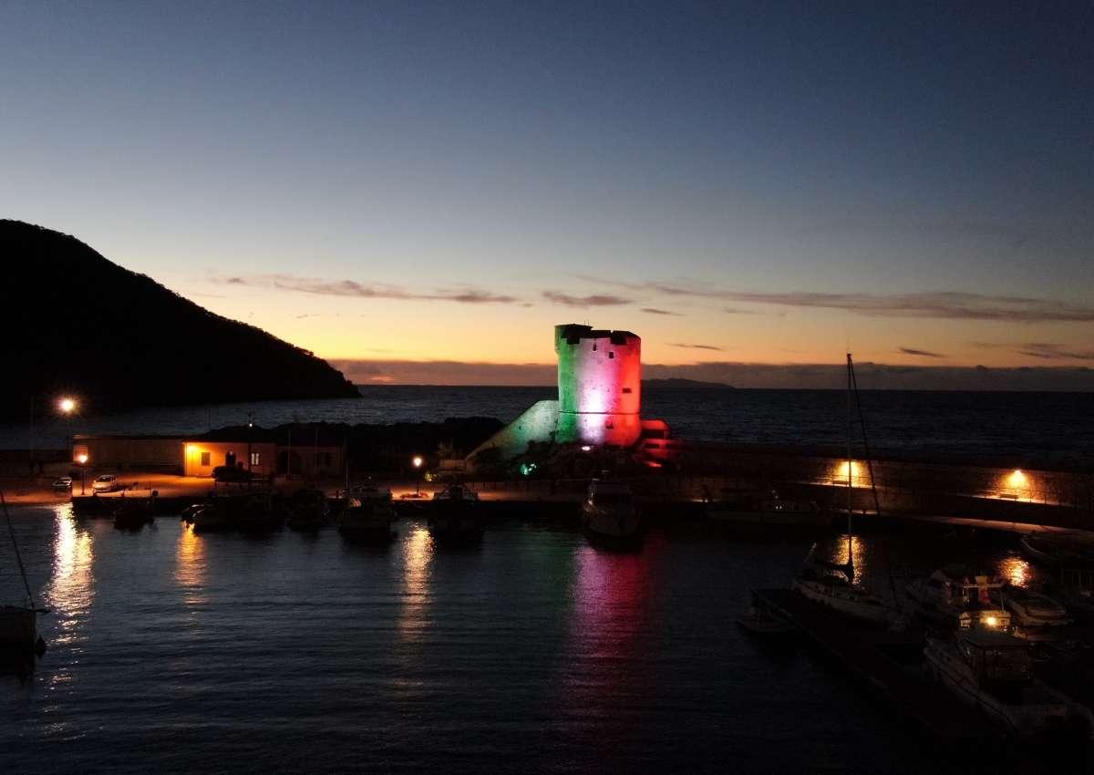 Port of Marciana Marina - Hafen bei Marciana Marina (Casa Tonda)