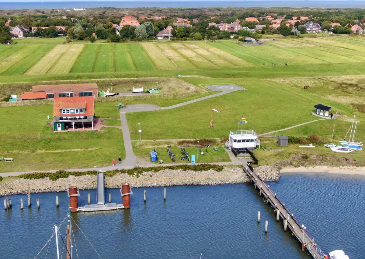Marina Spiekeroog - Hafen bei Spiekeroog
