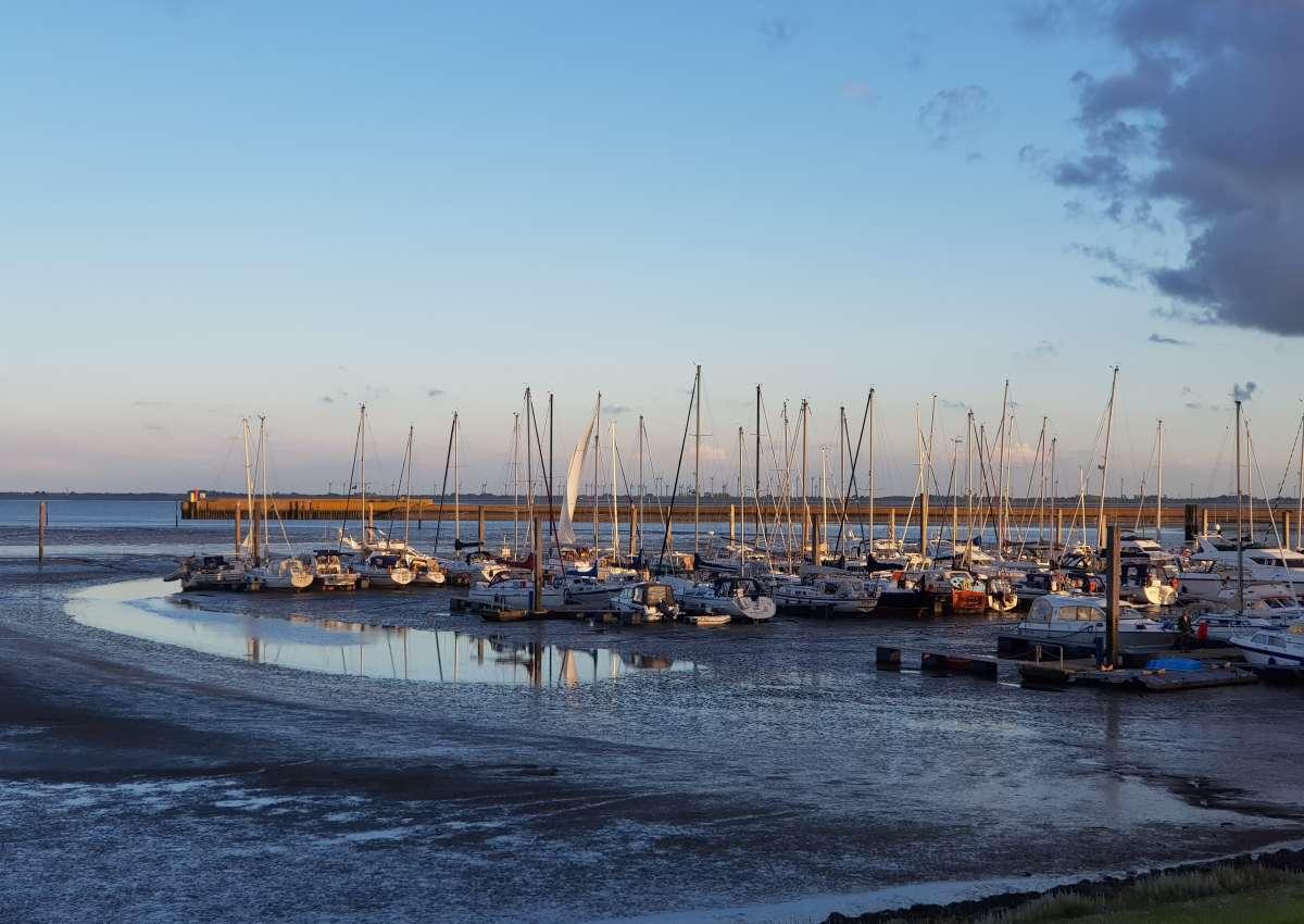 Marina Langeoog - Hafen bei Langeoog