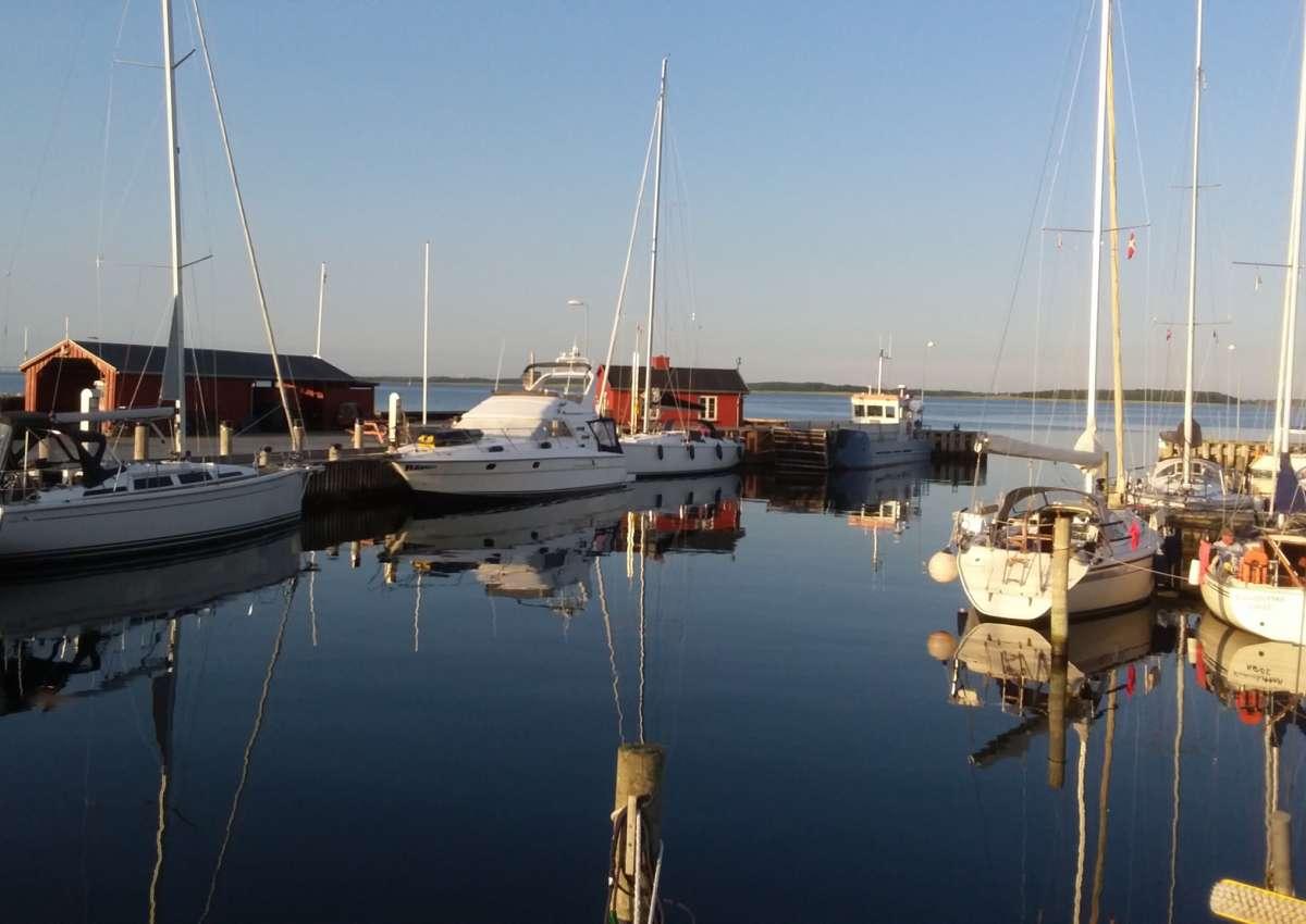 Strynø - Hafen