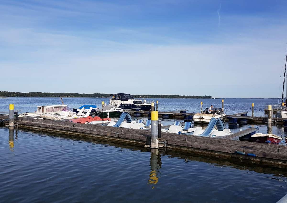 Hafenanlage Vila Vita - Hafen bei Ganzlin