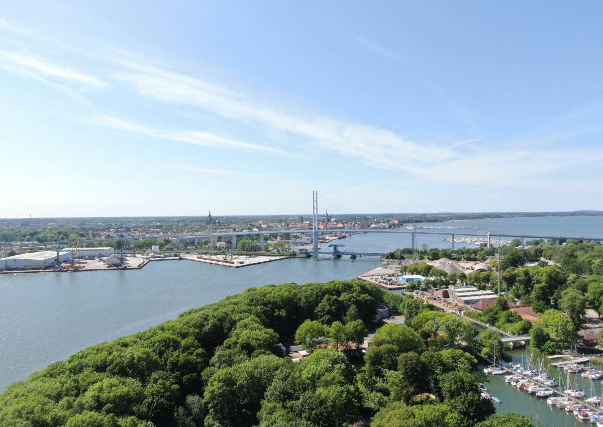 Brückensignale Stralsund Ziegelgrabenbrücke - Navinfo bei Stralsund (Franken Vorstadt)