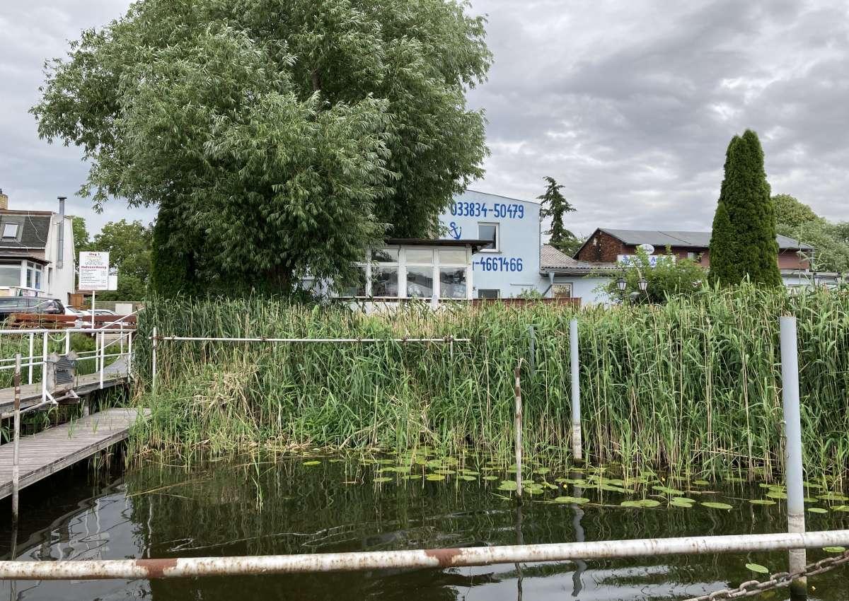 Bootshaus Pritzerbe - Hafen bei Havelsee