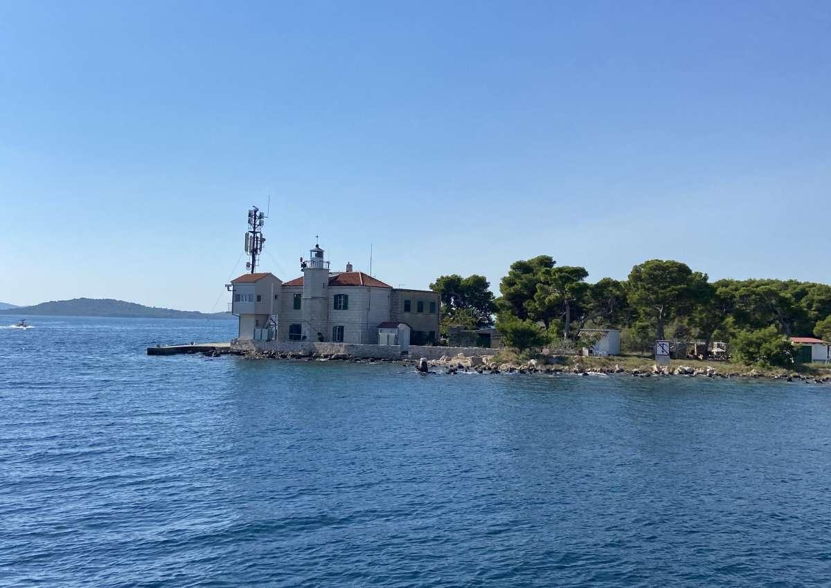 Adriatic lighthouse - Foto bei Šibenik (Gradska četvrt Stari grad)