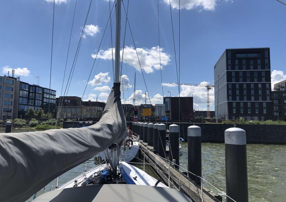 Sluishuissluis - Schleuse bei Amsterdam