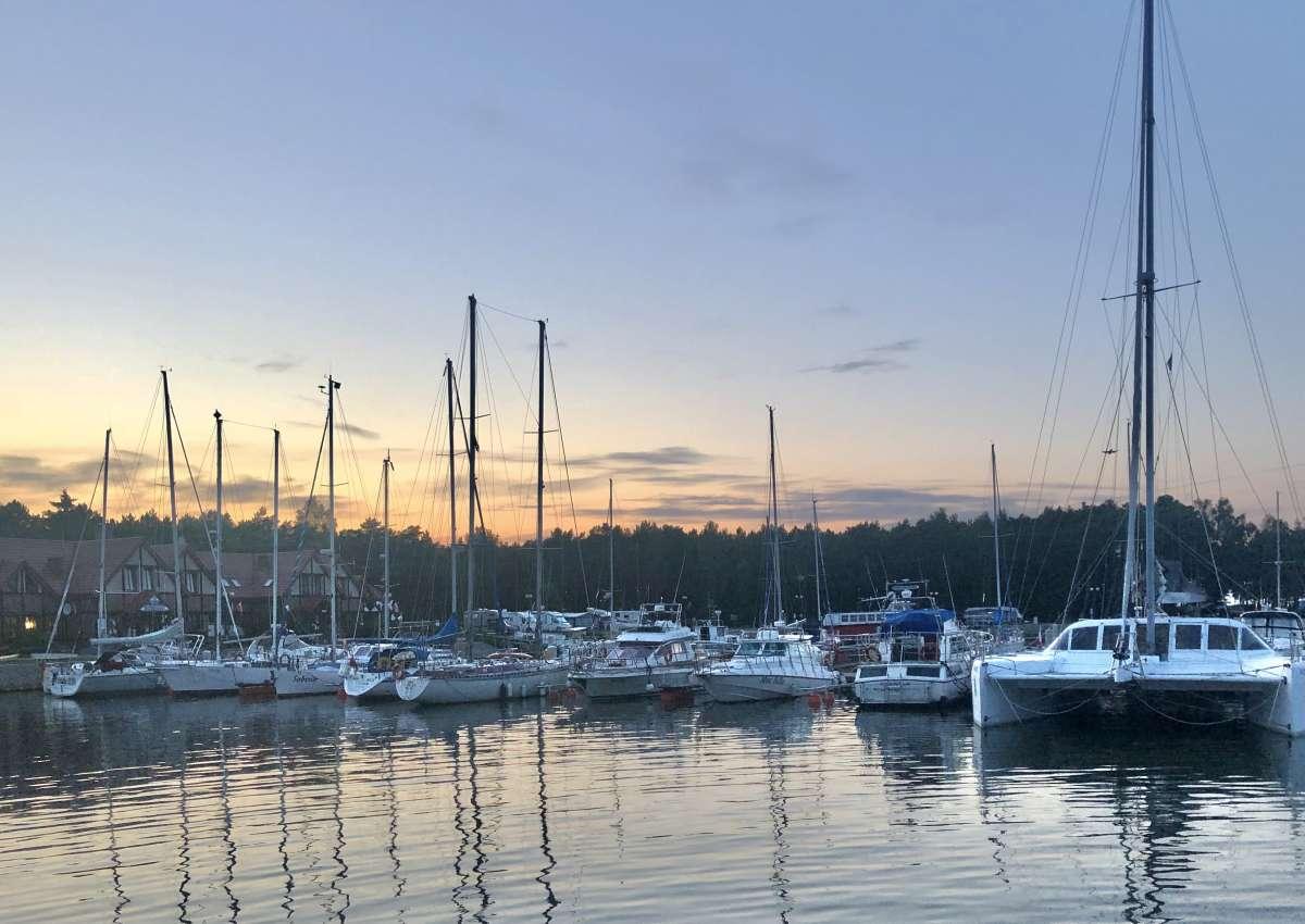 Yacht Harbor in Leba - Hafen bei Łeba
