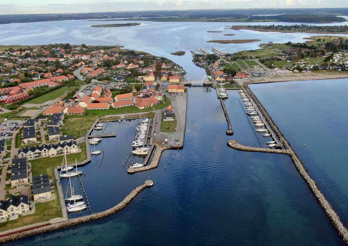 Karrebæksminde Inderhavnen - Hafen bei Karrebæksminde