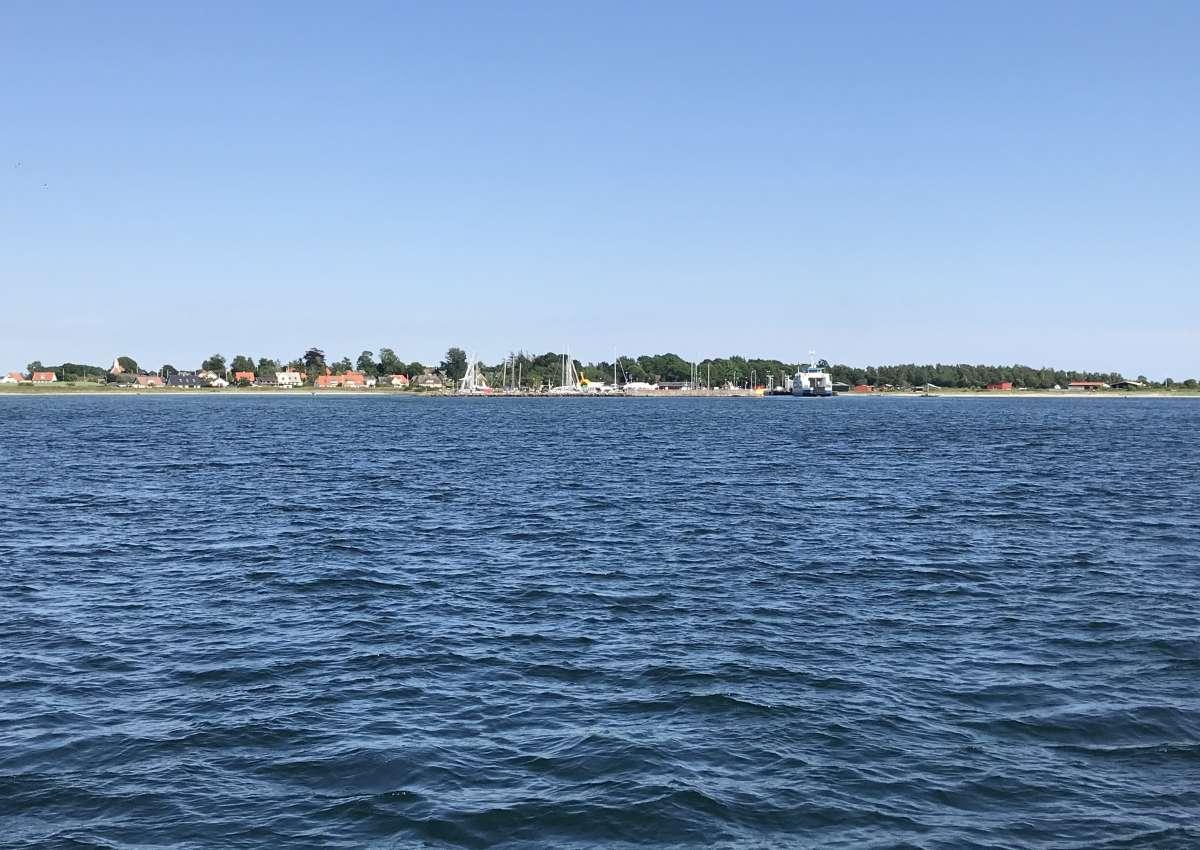 Årø - Hafen bei Løkke