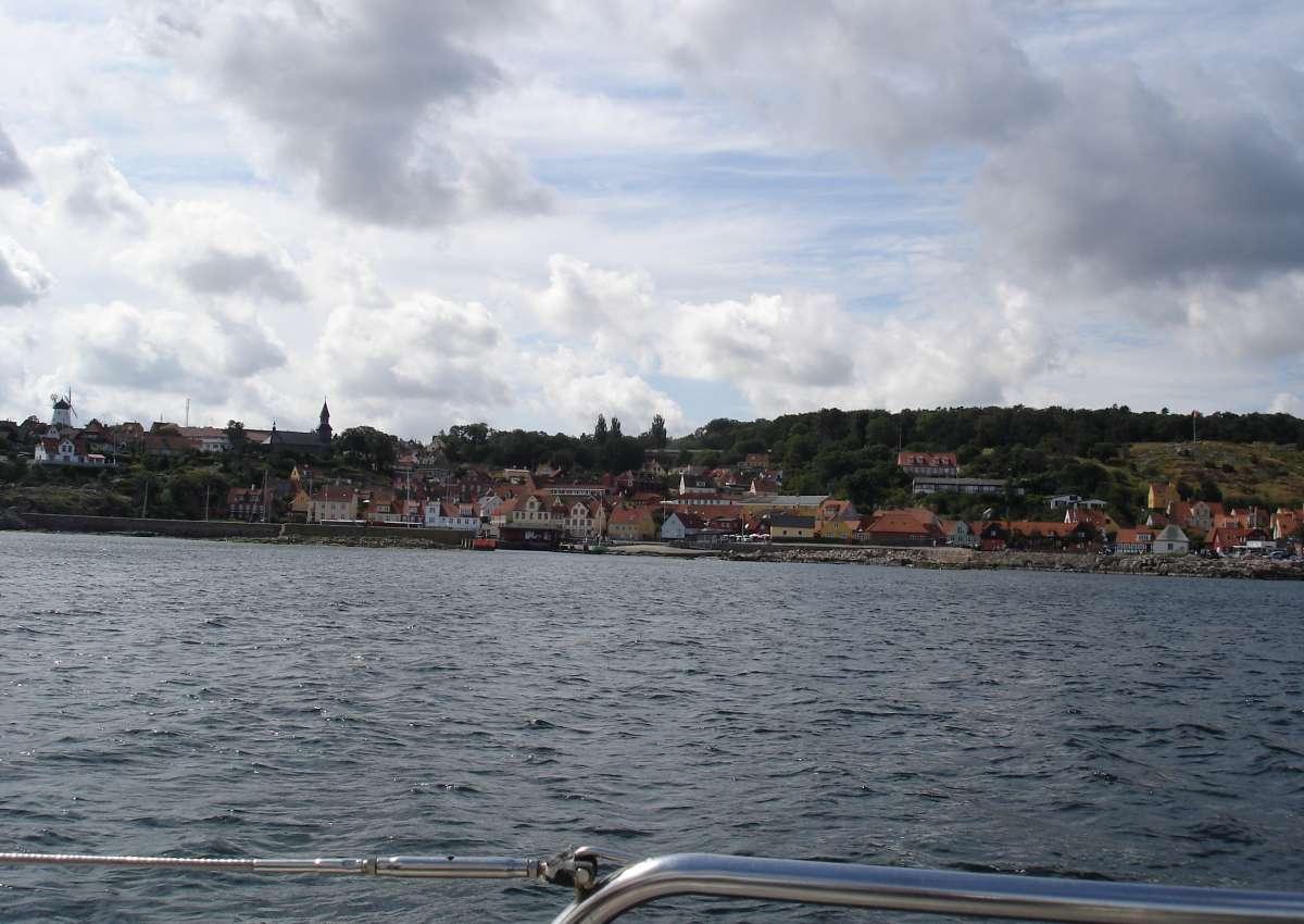 Gudhjem - Hafen bei Gudhjem