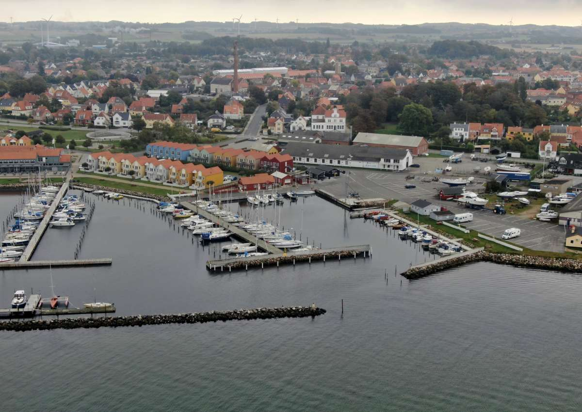 Rudkøbing Yachthafen - Marina près de Rudkøbing