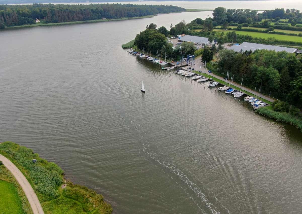 Missunde Marina Brodersby - Marina near Brodersby-Goltoft