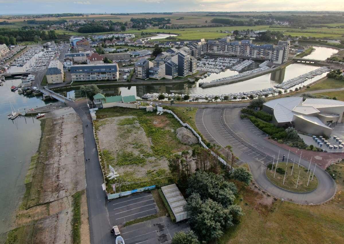 Le port de plaisance de Courseulles-sur-mer - Hafen bei Courseulles-sur-Mer
