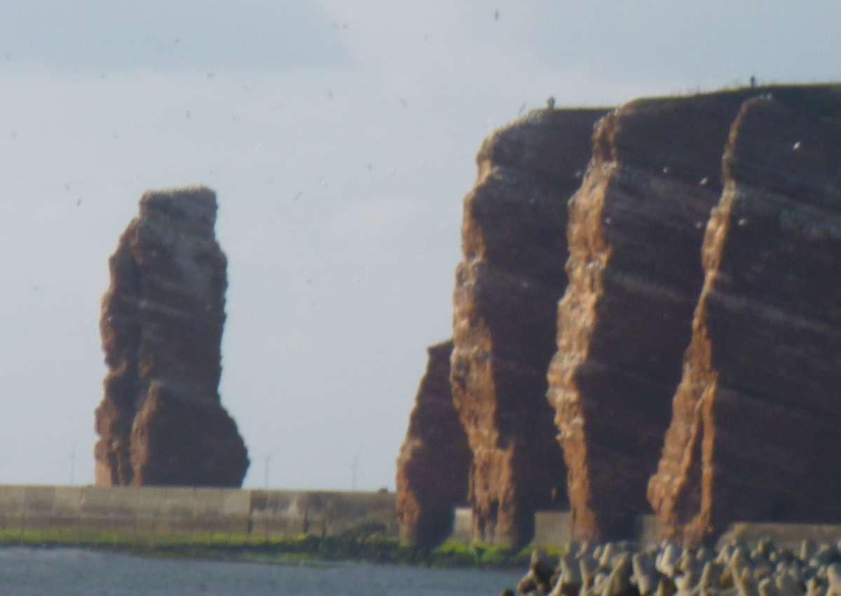 Helgoland - Hafen bei Helgoland (Unterland)