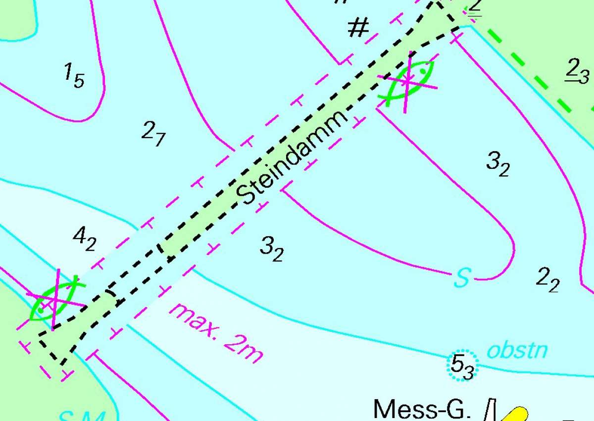Medemrinne - Steindamm Durchfahrt - Navinfo