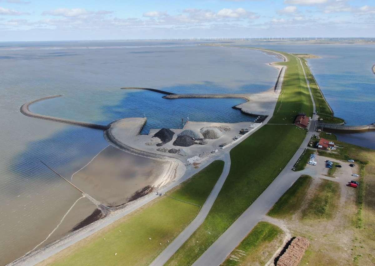 Holmer Siel - Hafen bei Nordstrand
