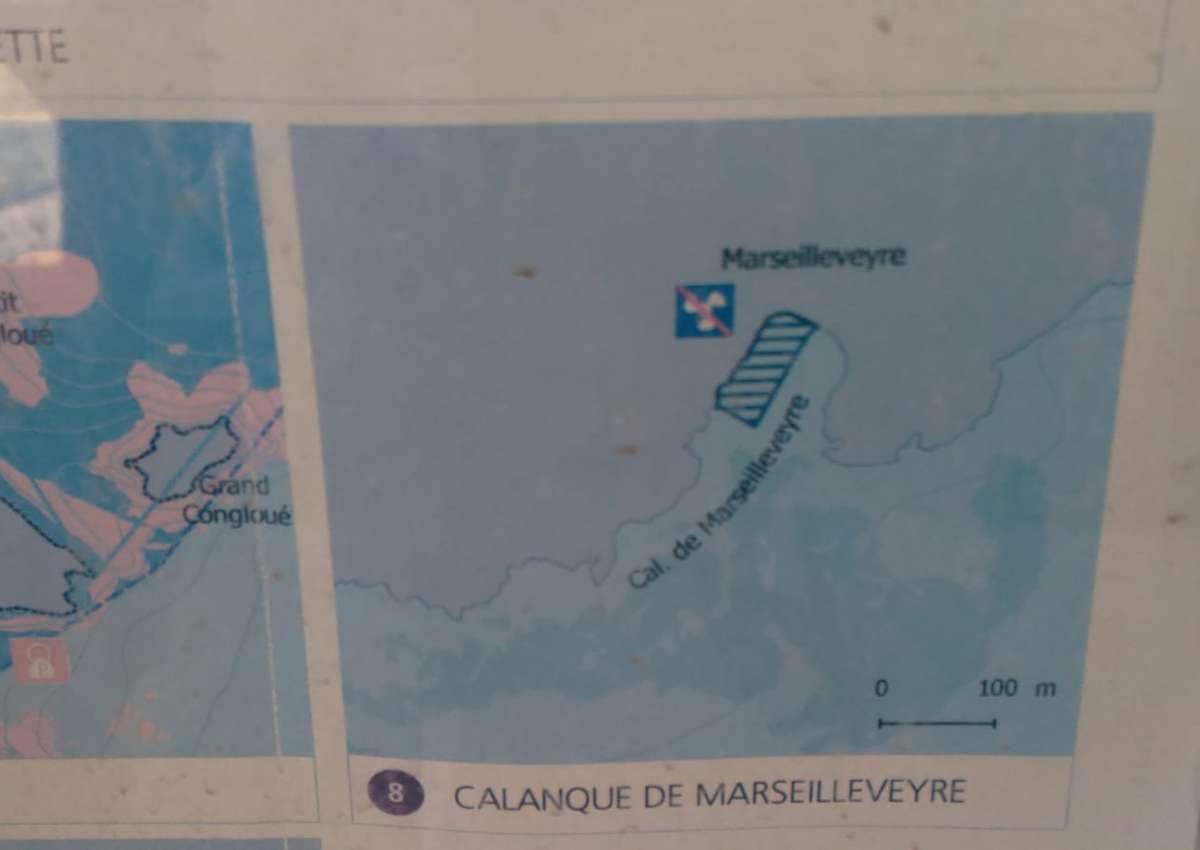 Calanque de Marseileveyre - Anchor near Marseille (Les Goudes)