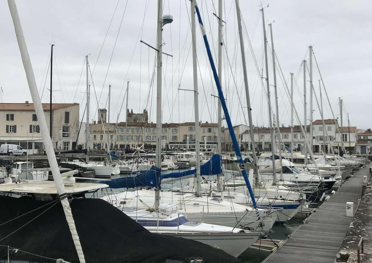 La Prée - Hafen bei Ars-en-Ré (Prise du Grand Garçon)