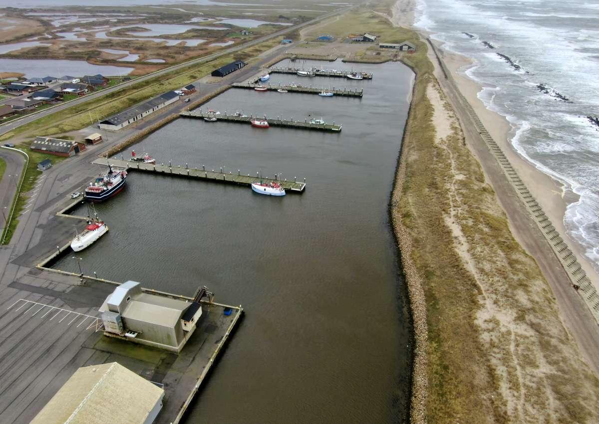 Thorsminde - Hafen bei Thorsminde