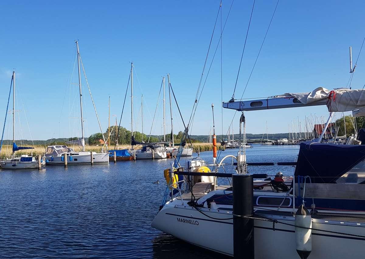 Seedorf - Hafen bei Sellin