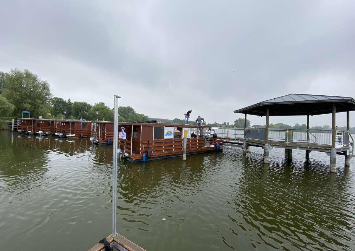 Seebrücke Radewege (MYC) - Hafen