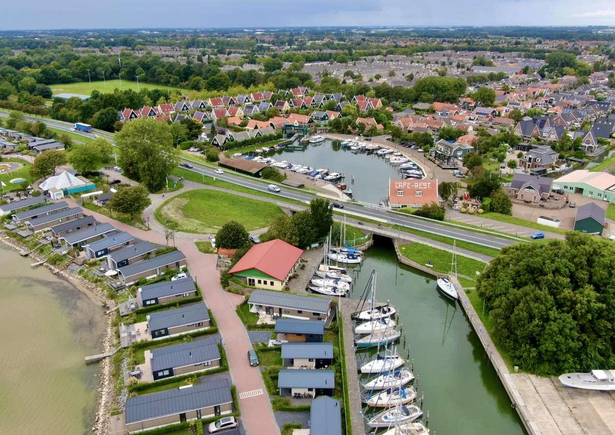 W.s.v. de Broekerhaven - Marina near Stede Broec (Bovenkarspel)