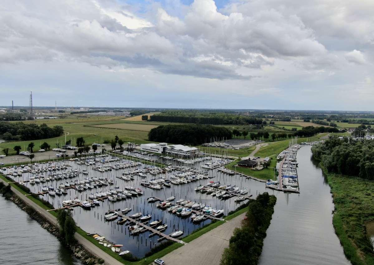 Jachthaven Noordschans in Klundert - Hafen bei Moerdijk (Klundert)