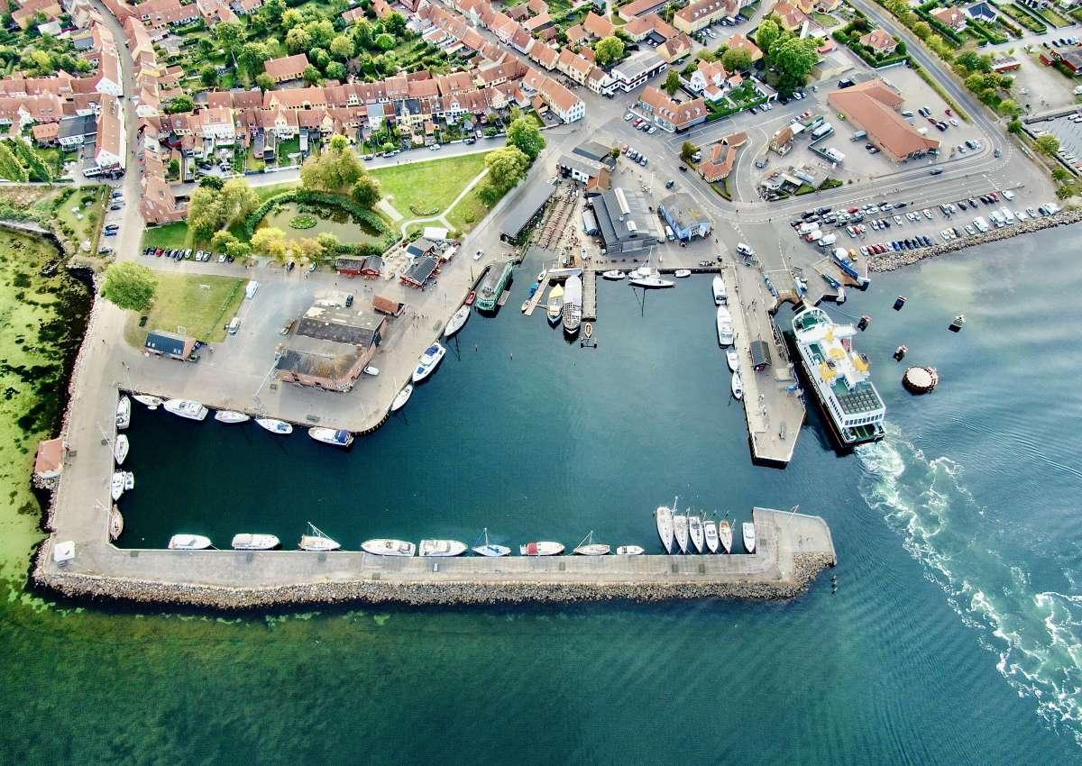 Ærøskøbing Handelshafen - Hafen bei Ærøskøbing