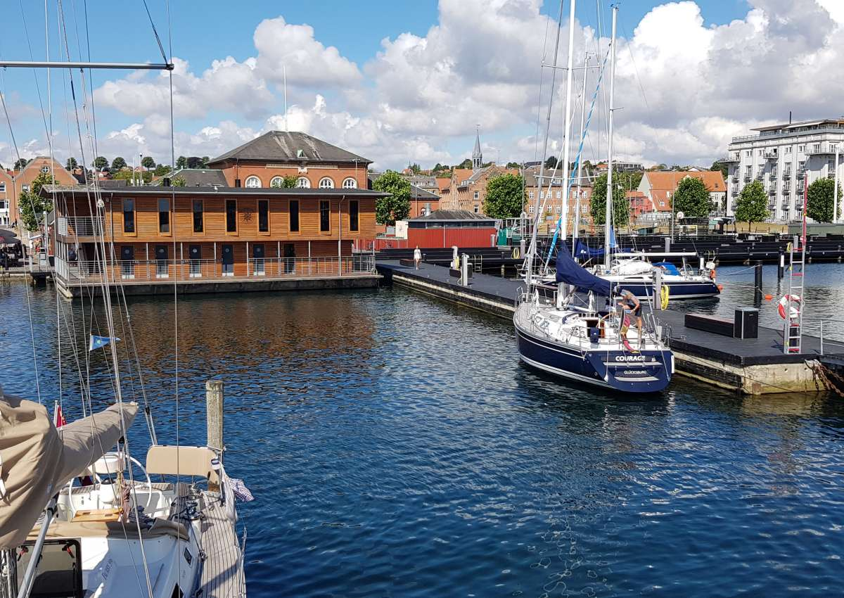 Svendborg Stadthafen - Hafen bei Svendborg