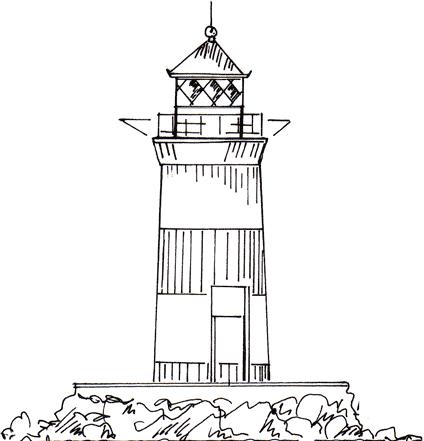 Schleimünde - Leuchtturm bei Kappeln (Olpenitzdorf)